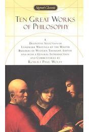 Ten Great Works of Philosophy - Régikönyvek