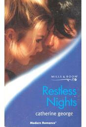 Restless Nights - George, Catherine - Régikönyvek