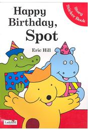 Happy Birthday, Spot – Story Sticker Book - Régikönyvek