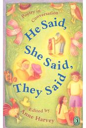 Poetry in conversation – He Said, She Said, They Said - Régikönyvek