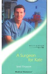 A Surgeon for Kate - Régikönyvek