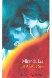 Just a Little Sex... - Régikönyvek