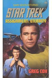 Assignment: Eternity - Cox, Greg - Régikönyvek