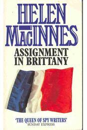 Assignment in Brittany - Régikönyvek