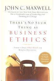 "There's No Such Thing as ""Business Ethics\"" - Régikönyvek"