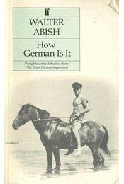How German Is It - Régikönyvek