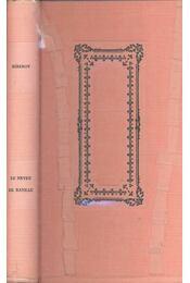 Le Neveu de Rameau - Régikönyvek
