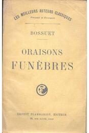 Oraisons Funébres - Régikönyvek