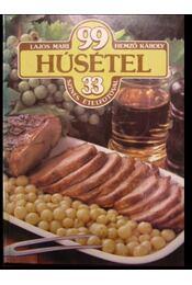99 húsétel 33 színes ételfotóval - Régikönyvek