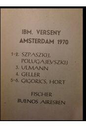 IBM verseny Amsterdam 1970 - Régikönyvek