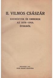 II. Vilmos császár - Régikönyvek