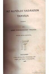 Az alföldi vadászok tanyája - Régikönyvek