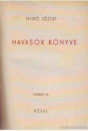 Havasok könyve - Régikönyvek