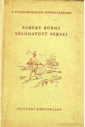Robert Burns válogatott versei - Régikönyvek