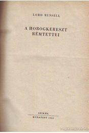 A horogkereszt rémtettei - Régikönyvek