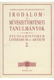 A Móra Ferenc Múzeum Évkönyve - Régikönyvek