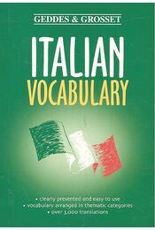 Italian Vocabulary - Régikönyvek