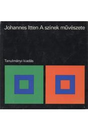 A színek művészete - Itten, Johannes - Régikönyvek