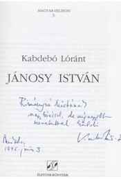 Jánosy István - Régikönyvek