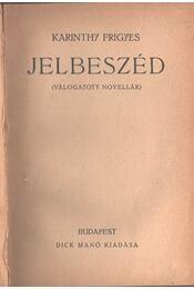 Jelbeszéd - Régikönyvek