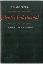 Jelentés Babylonból - Régikönyvek