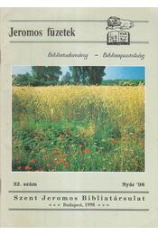 Jeromos füzetek 32. szám - Régikönyvek