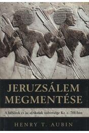 Jeruzsálem megmentése - Régikönyvek