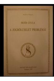 A jogbölcselet problémái - Régikönyvek