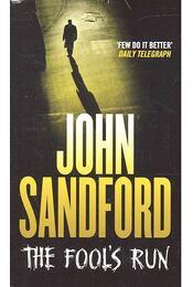 The Fool's Run - John Sandford - Régikönyvek