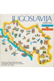 Jugoslavija Tourist map - Régikönyvek