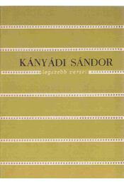 Kányádi Sándor legszebb versei - Régikönyvek