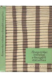 Az amerikai irodalom a huszadik században - Kardos László, Sükösd Mihály - Régikönyvek