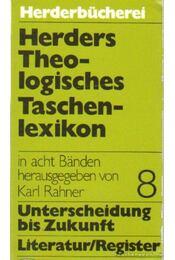 Herders Theologistiches Taschenlexikon Band 8. - Karl Rahner - Régikönyvek