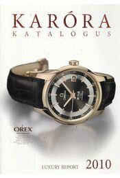 Karóra katalógus 2010 - Régikönyvek