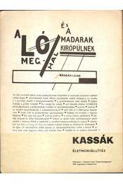 Kassák életműkiállítás - Perneczky Géza - Régikönyvek