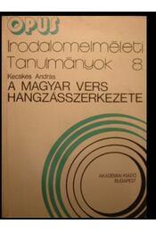 A magyar vers hangzásszerkezete - Régikönyvek