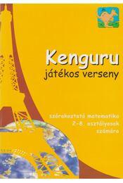 Kenguru - Játékos verseny - Régikönyvek