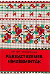 Keresztszemes hímzésminták - Régikönyvek