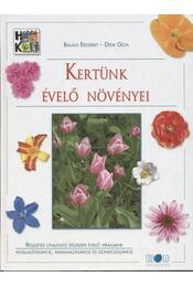 Kertünk évelő növényei - Régikönyvek
