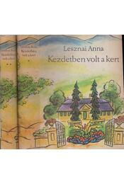Kezdetben volt a kert I-II. kötet - Régikönyvek