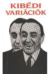 Kibédi variációk - Kibédi Ervin - Régikönyvek