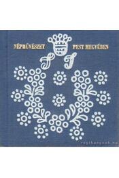 Népművészet Pest Megyében (mini) - Sándor Ildikó - Régikönyvek