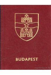 Budapest (mini) - Harsányi László - Régikönyvek