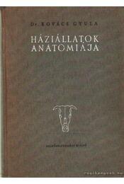 Háziállatok anatómiája - Régikönyvek