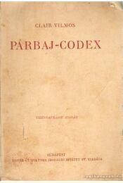 Párbaj Codex - Régikönyvek