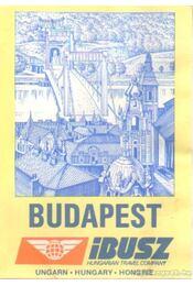 Budapest IBUSZ (térkép) - Régikönyvek