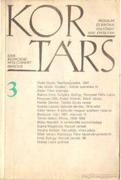 Kortárs 1987. XXXI. évfolyam 3. szám március - Száraz György - Régikönyvek