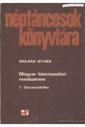 Magyar tánctanulási rendszerem 1. Táncesztétika - Régikönyvek