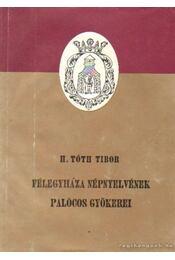Félegyháza népnyelvének palócos gyökerei - H. Tóth Tibor - Régikönyvek