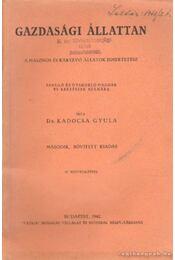 Gazdasági állattan - Régikönyvek